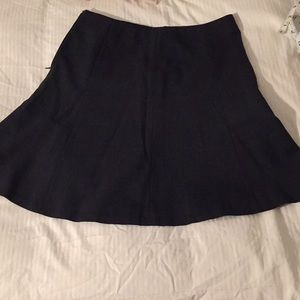 Ann Taylor Dark Grey Skirt